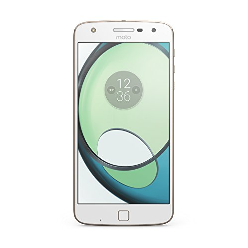 Lenovo Moto Z Play UK SIM-Free Smartphone - White/Gold