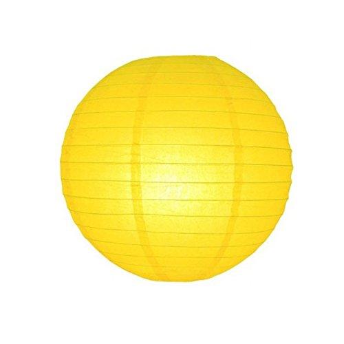 Générique Lanterne Boule Papier Jaune 50CM