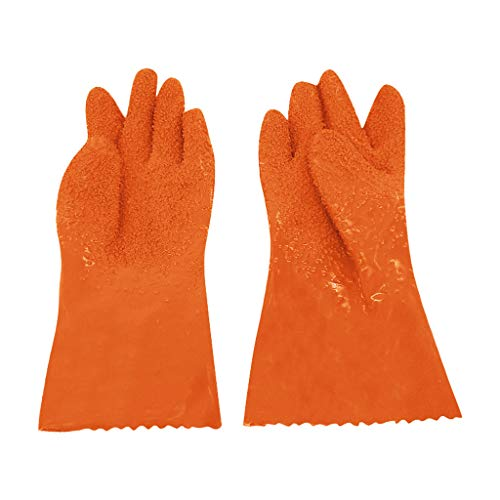 WHAEOSKH 1 Pair Peeling Potato Gloves Peel Vegetable Fish Scale Gloves Non-Slip Firm Rubber Set