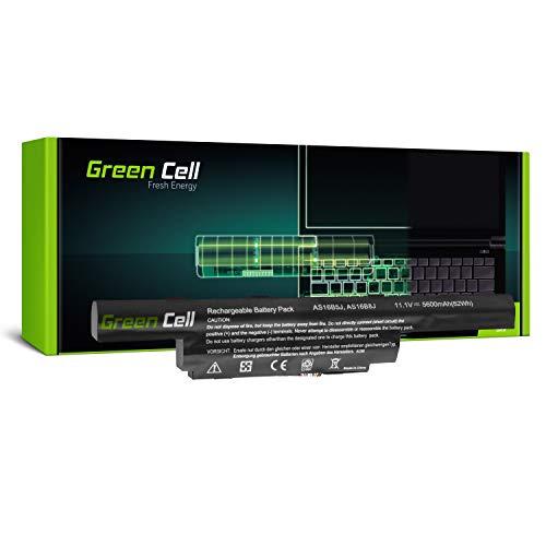 Green Cell® Standard Serie Batería para Acer Aspire F5-573 F5-573G F5-573G-50SK F5-573G-51NX F5-573G-524K Portátil (5600mAh 11.1V Negro)