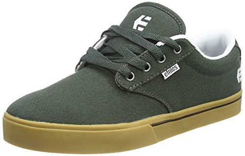 Etnies Herren Jameson 2 ECO Skate-Schuh, Grün/Weiß, 43 EU