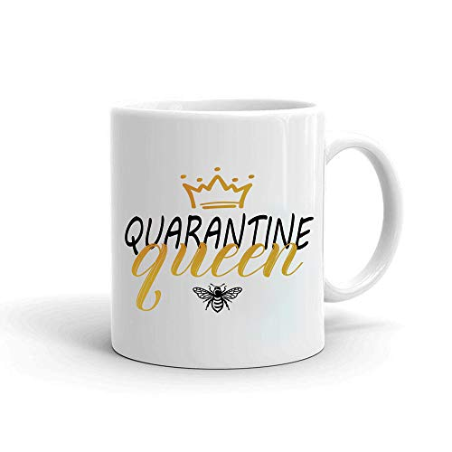Quarantine Coffee Mug Gifts For Adults, Women   Social Distance Best Gift For Girlfriend Sister Wife Mother   Capacity 11 Oz