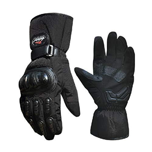 Guanti da ciclismo unisex termici guanti da ciclismo ciclismo antivento impermeabili antiscivolo guanti da bici per esterno
