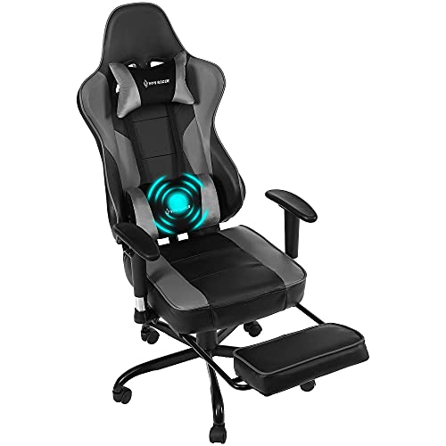 Comermax Gaming Chair Video Gaming Chair Office Chair High Back Computer Chair Leather Desk Chair...