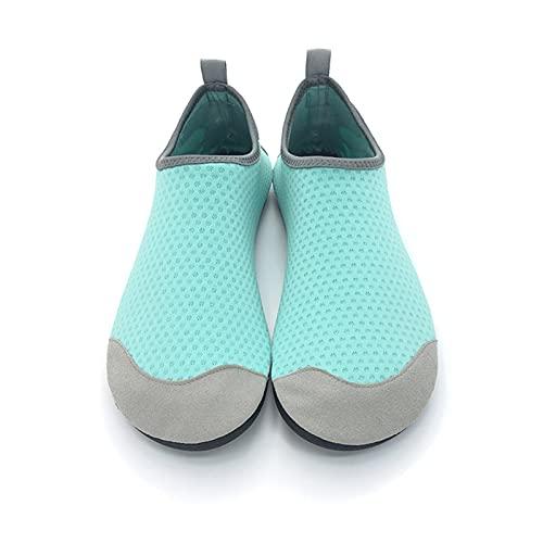HTTC Zapatos de agua para hombre y mujer, calcetines de yoga de secado rápido descalzo, zapatos de natación de playa al aire libre, zapatos de natación para hombre y mujer