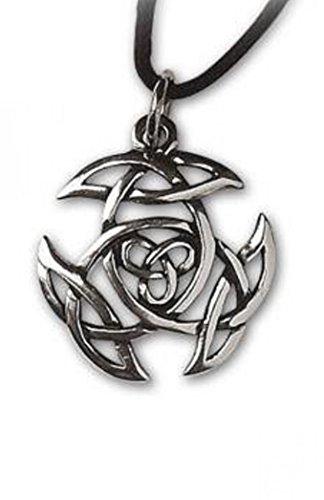 Keltischer Knoten Anhänger Amulett Silber Schmuck - Schutzamulett