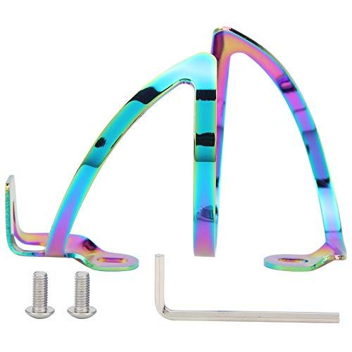 FOLOSAFENAR Soporte de Taza de Agua Ligero Moldeado de una Pieza de la Jaula de la Botella de la Bicicleta, para el Uso de la Bicicleta(FX04)