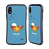 Head Hülle Designs Offiziell Offizielle Angry Birds Blues Volles Gesicht Hybride Handyhülle Hülle Huelle kompatibel mit Apple iPhone XR