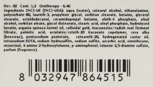 FANOLA Oro Puro Therapy Color Keratin Haarfarbe 100 ml 10.13 Blond Platin Beige Extra