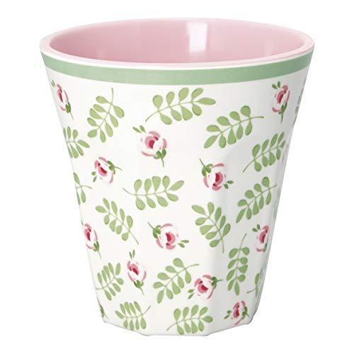 GreenGate - Becher - Tasse - Mug - Lily Petit - Melamin - Höhe 9 cm