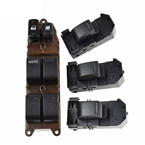 MNBHD Interruptor de ventana 84820-60130 8482060130 Interruptor de ventana eléctrico para Toyota Fit para Land Cruiser 100