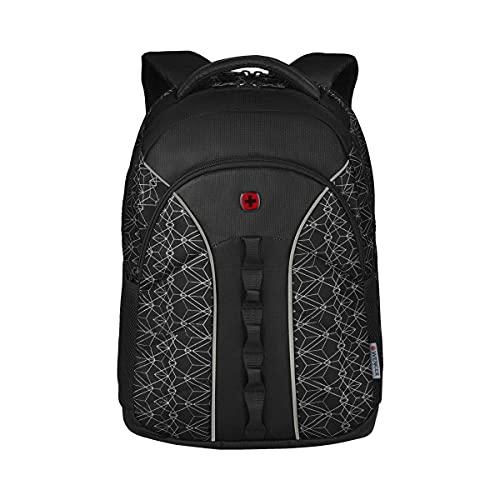 WENGER BTS 2020, Sun, 16'' Laptop Backpack, Black Geo Print (R) 610213, Schwarz