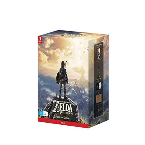 The Legend of Zelda - Breath of the Wild Limited Edition [Nintendo Switch - AU Import]