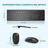 Zoom IMG-1 wisfox combinazione di tastiera mouse