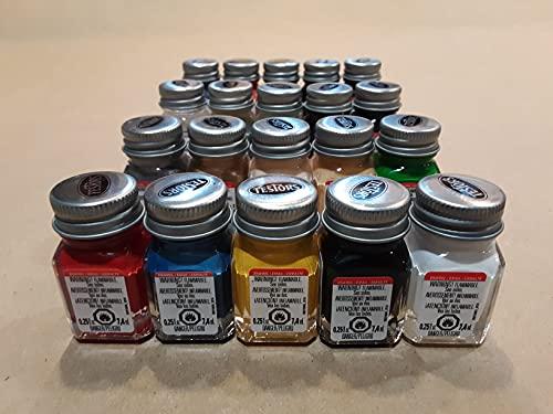 Testors Enamel Basic Paint Set - 20 Bottles. Testors Model Paint - Testors - Model Paint - Paint for Models - New - Fresh -