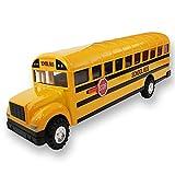 ArtCreativity Die Cast Yellow School Bus Toy for Kids -...