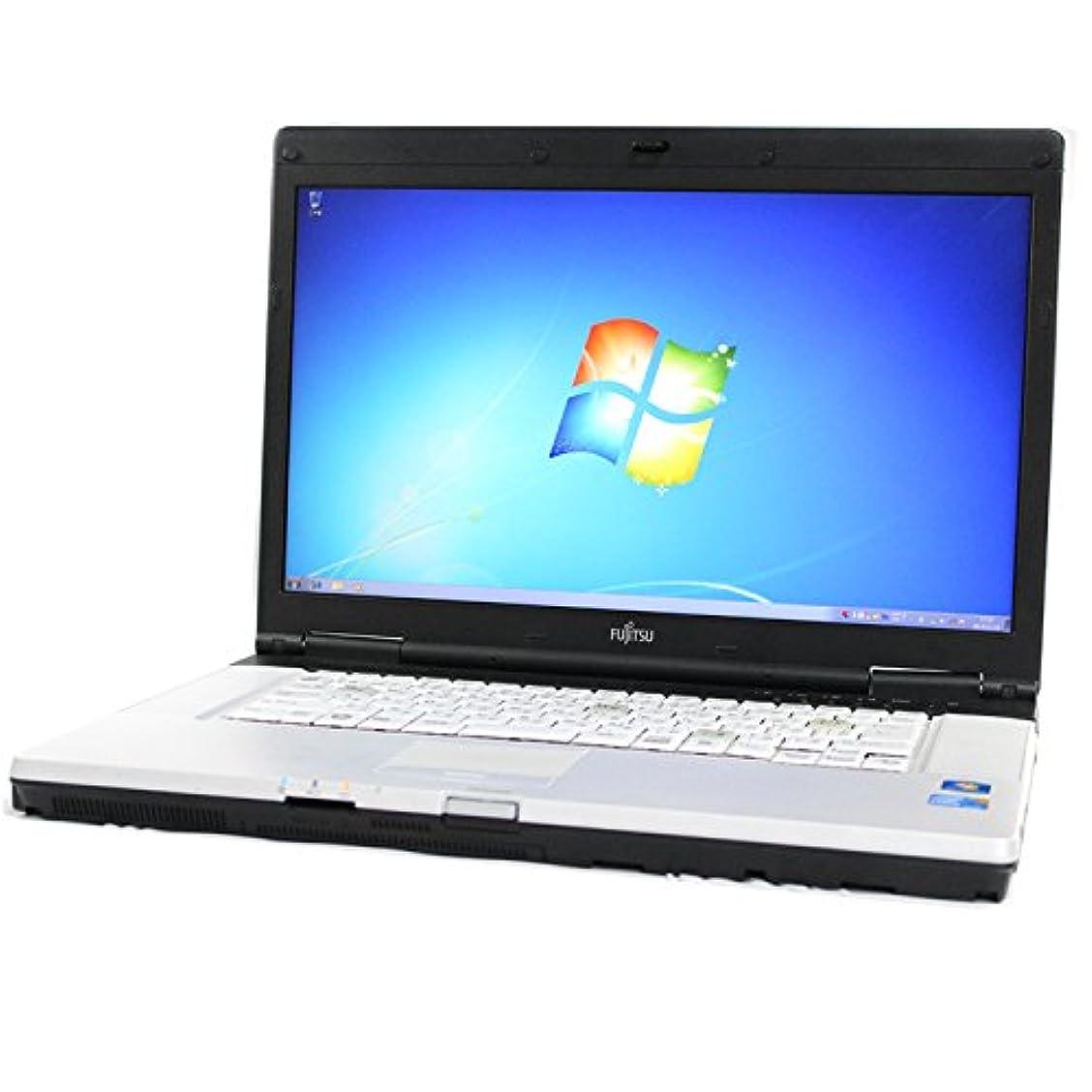 大きい通知するオフFUJITSU 富士通 LIFEBOOK E780/A FMVNE2TE Core i5 4GB 160GB 無線LAN 15.6型液晶 Windows7 Professional 中古 中古パソコン ノートパソコン
