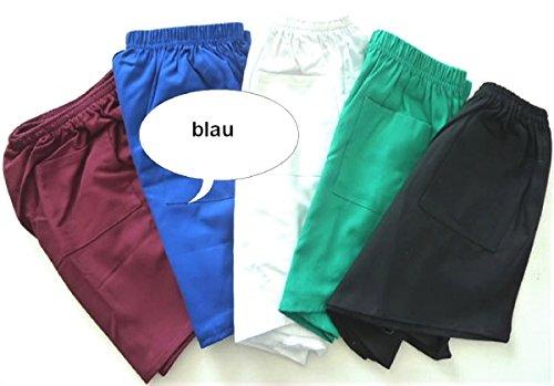 R & R Textil GmbH Pantalon de gym homme taille 8 Bleu