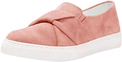 Alaso Chaussures Femme Mocassin - Zapatillas de mujer sin cordones para otoño e invierno, informales, zapatillas de ciudad, sin cordones, para mujer