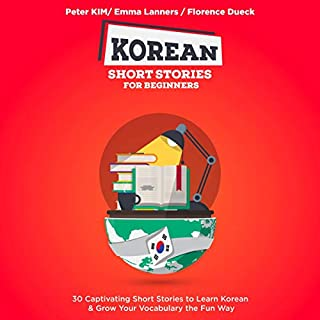 Korean Short Stories for Beginners audiobook cover art