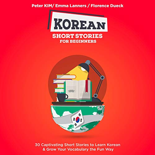 『Korean Short Stories for Beginners』のカバーアート