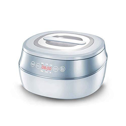 Yyqtsnj Macchina Automatica for Lo Yogurt, la scocca è Realizzata in Materiale ABS Ecologico, Che è Anti-invecchiamento e Mantiene la capacità di lucentezza 1L