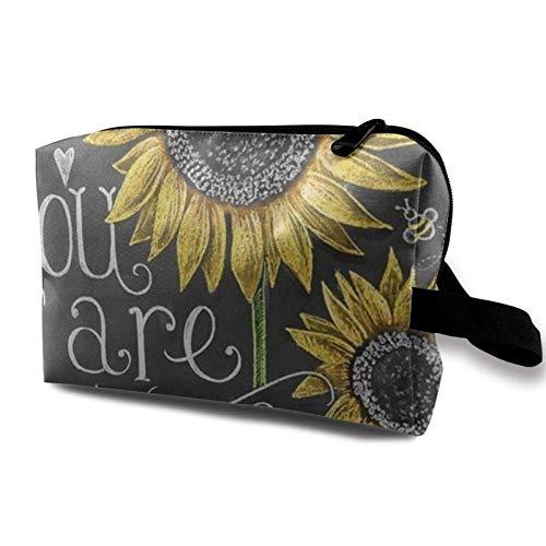 Kleine Kosmetiktasche für Damen, Reisetasche, tragbar, tägliche Aufbewahrung, Organizer, Handtasche, Puerto Rico Flag 2