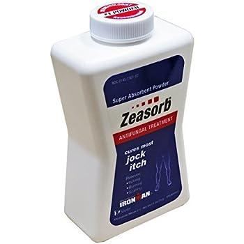 5 Pack Zeasorb Super Absorbent Antifungal Treatment Powder Jock Itch 2.5 oz