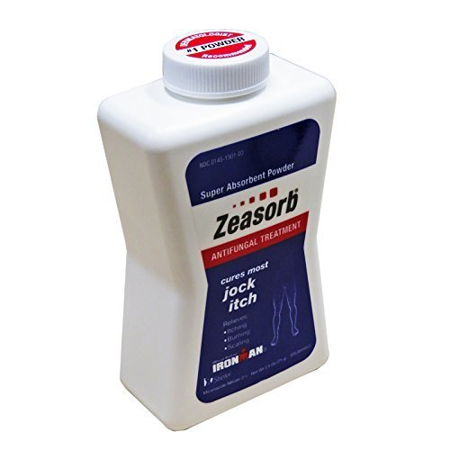 5 Pack Zeasorb Super Absorbent Antifungal Treatment Powder Jock Itch 2.5 oz