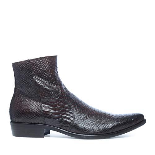 Sacha Schuhe - Herren Kurze Boots - Leder - Braun