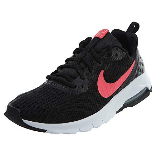 Nike Air MAX Motion LW (GS), Zapatillas de Trail Running Mujer, Negro (Black/Racer Pink/White 001), 39 EU