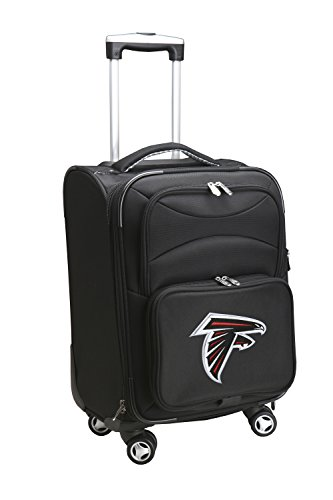 Denco NFL Atlanta Falcons Domestic Carry-On Spinner, 20-Inch, Black