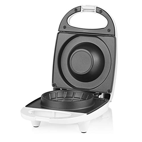 GOURMETmaxx Waffelcup-Maker | Schnelle Zubereitung, kein Anbrennen, ideal auch für andere Teigwaren | 220-240V [weiß]
