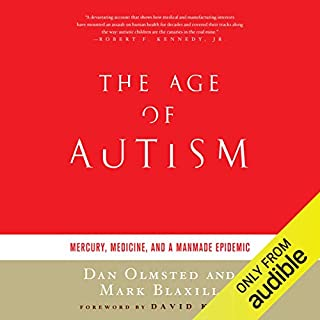 The Age of Autism audiobook cover art