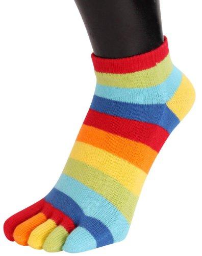 ToeToe - Chaussettes de sport - Homme Multicolore Multi-colour