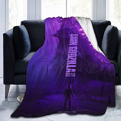 Wteqofy Godzilla Mandala und Elefantenmuster, für Wohnkultur, Sofa, Geschenke für Frauen, Freunde und Familie, 50x40 Zoll