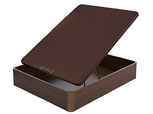 Flex - Canapé Abatible Madera Transpirable Tapa 3D - 180X200, Color Cerezo