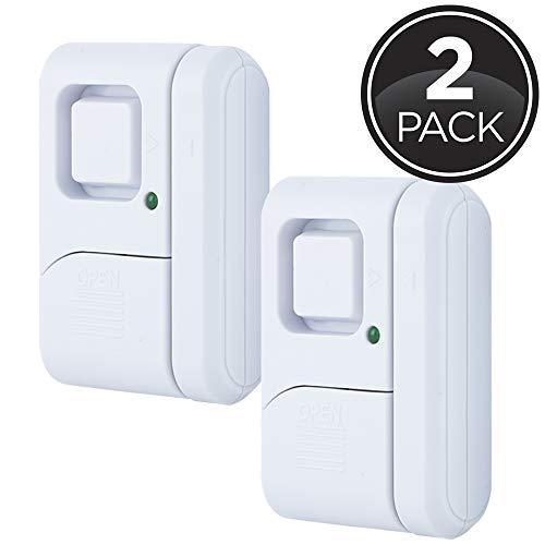 GE Personal Security Window/Door Alarm, 2-Pack, DIY Home Protection, Burglar Alert, Wireless Alarm,...