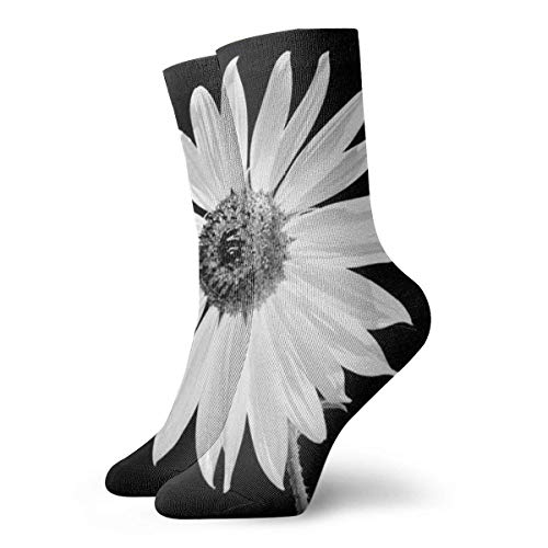 Adamitt Calcetines deportivos unisex Sunflower Calcetín casual deportivo