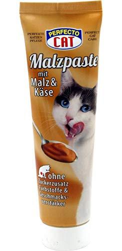 Perfecto Malzpaste für Katzen 100g Katzenmalz Malz Haarballen