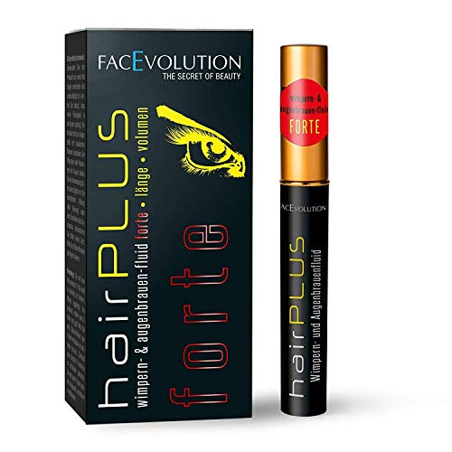 FacEvolution hairPLUS Wimpern- & Augenbrauen-Fluid forte, 4.5 ml