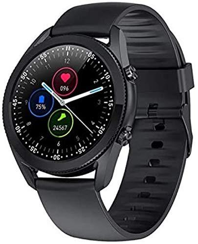 Nuevo reloj inteligente Bluetooth llamada ritmo cardíaco y presión arterial Monitoreo hombres s fitness pulsera hombres s reloj adecuado para Android IOS-F