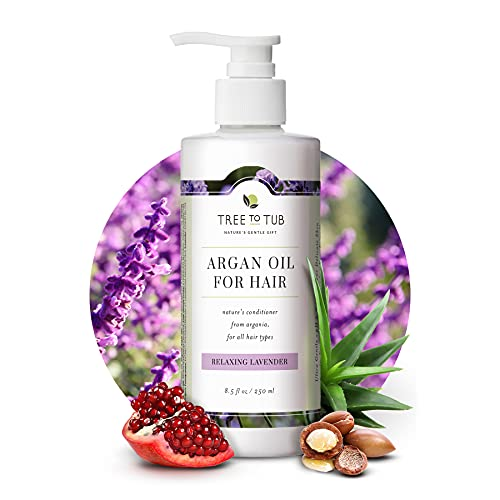 Lavender Sulfate Free Conditioner for Sensitive Skin by Tree to Tub -...
