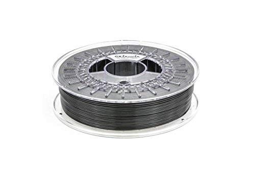 extrudr® TPU Hard ø1.75mm (750gr) 3D Printer Filament Black, Flexible Elastic Filament with Chemical Resistance