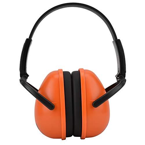 Geluiddichte oorkappen, 23 dB NNR-gehoorbescherming met ruisonderdrukking Opvouwbare oorkappen voor slapen, leren, werken, vliegen, hardlopen, schieten, industrie