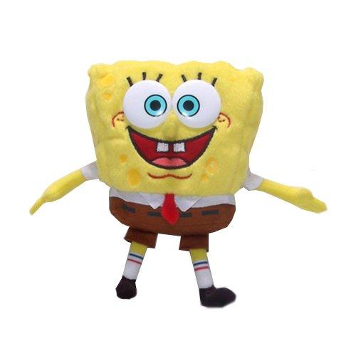 Spongebob Square Pants Plush Smiling Cartoon Character Adorable Nickelodeon Doll
