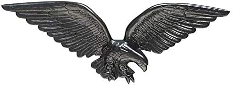 Whitehall Products Decorative Wall Limited Special Price 24-Inch Latest item Black Eagle