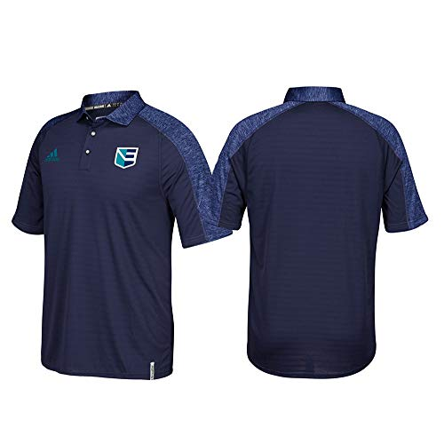 adidas Team Europe 2016 World Cup of Hockey Men's Climalite Coaches Polo Shirt