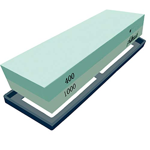 Whetstone Sharpening Stone 400/1000 Grit Kit,Best Whetstone Knife Sharpener Stone With Non-Slip Base,Kitchen Chef Wet Stone For Knives,Blades Waterstone