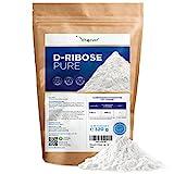 D-Ribose Pulver - 320 g - 80 Tagesportionen mit 4 g (2,6 Monate Vorrat) - Natürlich aus Fermentation - Laborgeprüft - Rein & ohne Zusätze - Hochdosiert - Naturbelassen - Vegan